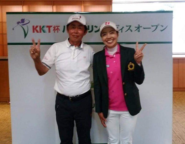 西山ゆかりプロ KKT杯バンテリンレディスオープン優勝!